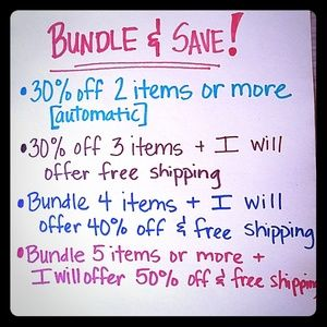 Other - Bundle with me and SAVE $$$!!!!